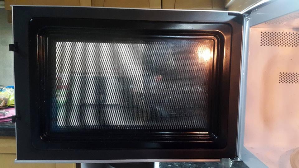 Microwave door Before