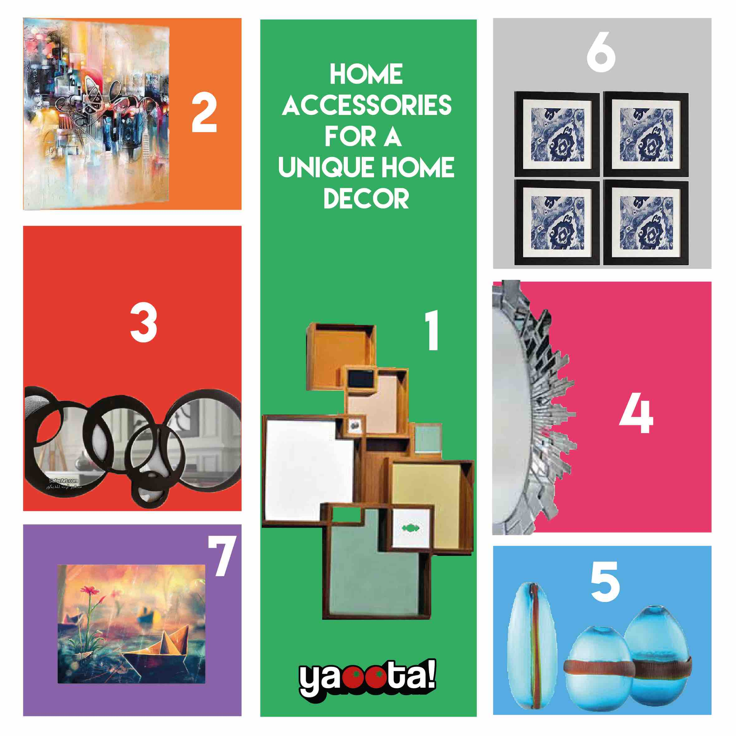 Home Accessories For A Unique Home Décor And Their