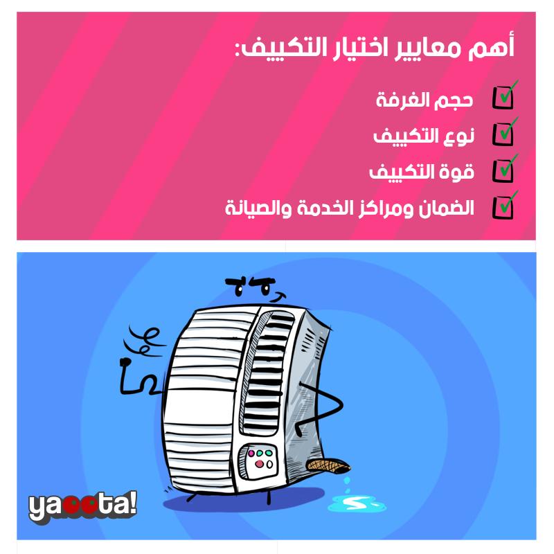 قائمة بأهم مواصفات و معايير اختيار مكيف الهواء