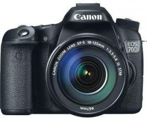 مميزات وعيوب و مراجعة كاميرا Canon 70D دي إس إل آر