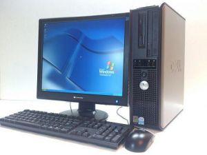 جهاز كمبيوتر كامل ماركة ديل بالشاشة والسماعات والكيبورد والماوس